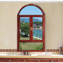 Double Glazed Thermal Break Swing Aluminum Casement Window (FT-W80)