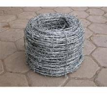 Verzinkter oder PVC-beschichteter Stacheldraht