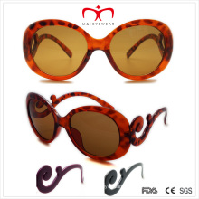 Ladies Sunglasses with Special Shaped Temple (WSP508244)