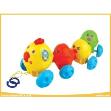 Plastic Toys Chickens with Lovely Sounds for Baby