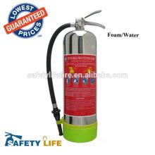 Нержавеющая сталь 304 2Gallon воды воздуха огнетушителя под давлением