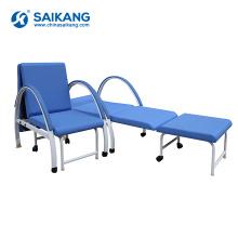SKE001-2 Hospital Medical Dobrável Móvel Acompanha a Cadeira