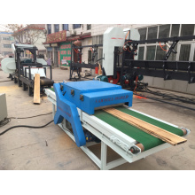 Twin Blade Circular Sawmill Boards Edge Machine