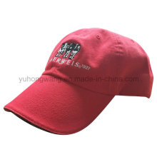 Customized Washed Baseball Cap, New Design Snapback Sports Hat