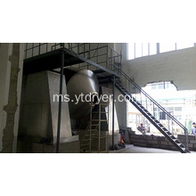 PC, PE Khas Double Cone Rotating Dryer Vacuum