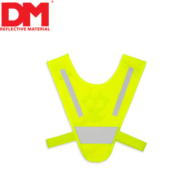 Cheap price triangle shape children kids reflective safety V vest