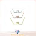 Collar de plata de la joyería AAA CZ 925 de la manera de la mujer (N6642)