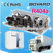 unidad de refrigeración de transporte pequeña para furgoneta con unidad de condensación de compresor de refrigeración R404a