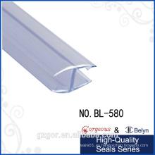 Bylen posee el sello transparente de la puerta de la tira del caucho de la forma de H transparente de la fábrica