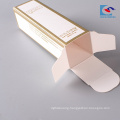 Logo printed lipstick cosmetic paper box with embossed logo printing