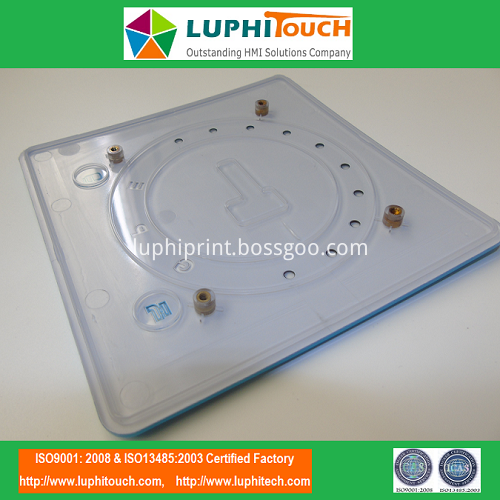 DTE Ultrasonic Scaler In-Mould Decoration IMD Plastic Panel