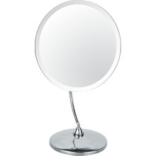 Desktop Metal Chrome Makeup Mirror