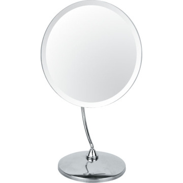 Bureau Chrome métal maquillage miroir