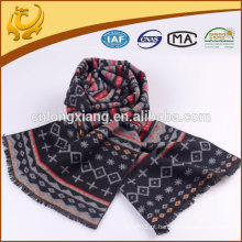 2016 Mais recente Fashionable A Variety Of Designs 100% Silk Jacquard Scarf