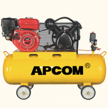 GA2508 4hp 8bar 9 CFM 70 liter air tank petrol portable gasoline air compressor