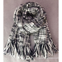 Fashion ladies houndstooth oversized scarf