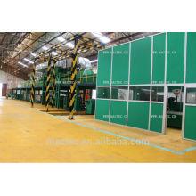 Ligne de machine de revêtement de bobine d'aluminium et d'acier à vendre