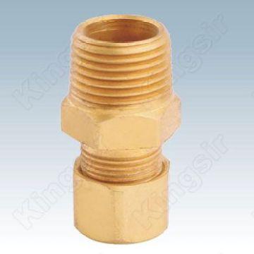 Высокое качество подгонять трубы фитинги латунные