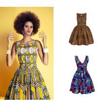 Tela impresa cera africana de Bazin Riche de la alta calidad al por mayor del precio bajo 100% de la tela del algodón