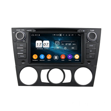 Moda tendencia single din car sistema multimedia E90