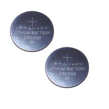 Pila de litio de 3,0 voltios de moneda de manganeso CR2330