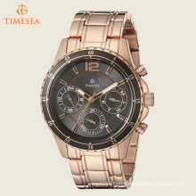Women′s Classic Rose Gold-Tone Watch with Grey Multi-Function Dial 71236