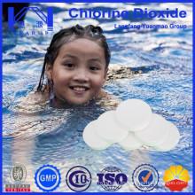 Tratamiento para piscinas de tratamiento de natación Tabla de dióxido de cloro / fungicidas / Made in China