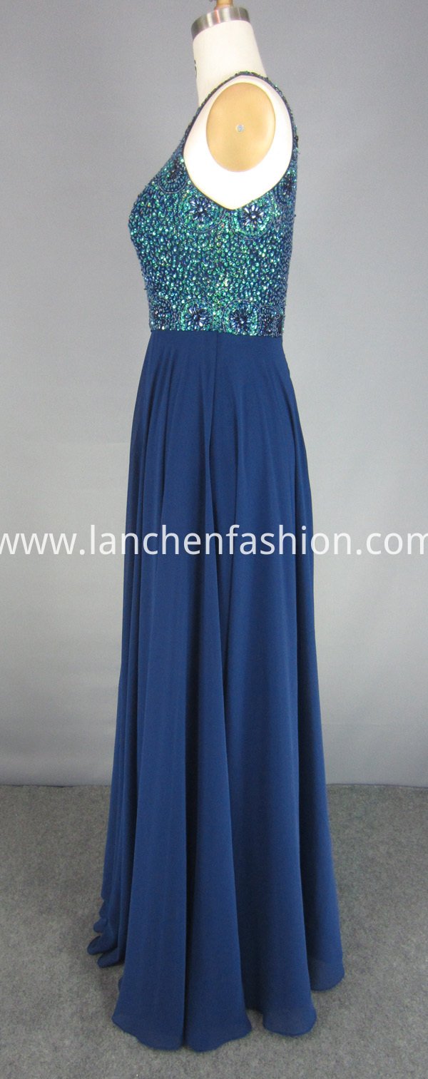 Sleeveless Prom Dress