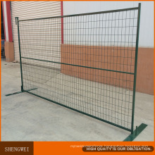 Canada Standard PVC Coated ISO Certificated Temporary Fence
