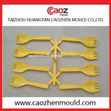 De plástico desechable de la cuchara del helado en China