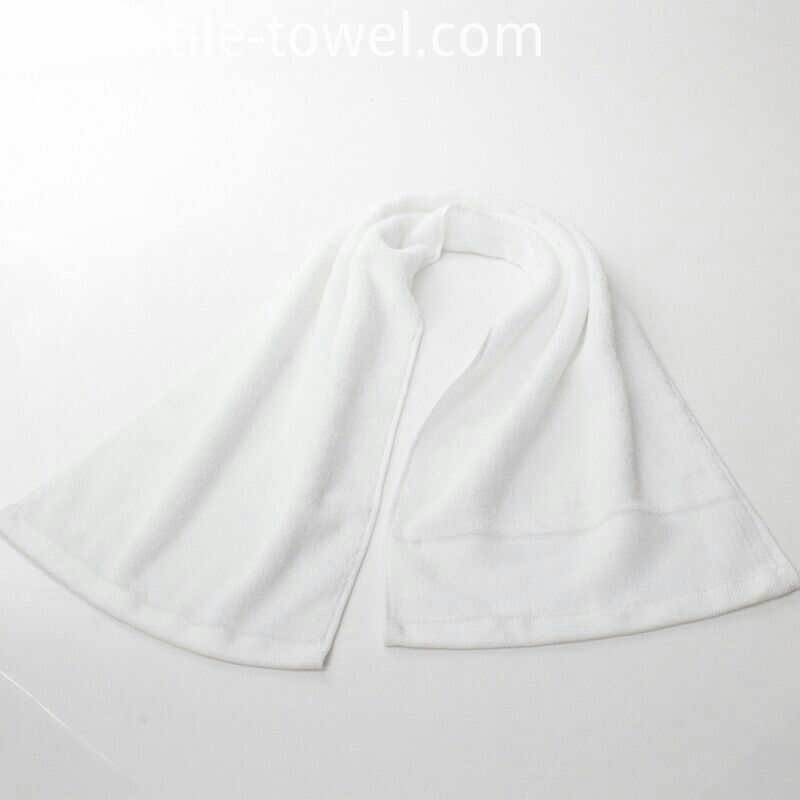 White Gym Towels