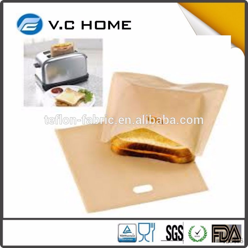 4x New Reusable Toaster Bags Toastie Toaster Pockets Pouch Toastabags Toast