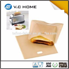 2016 New Cooking Grilled Cheese Toaster Bags Heat Resistant Grilled Sandwich Toaster Bags Price
