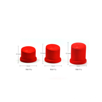 China Manufacturer Supplies Red Flocked Jewelry Ring Display Set (RS-R3T)