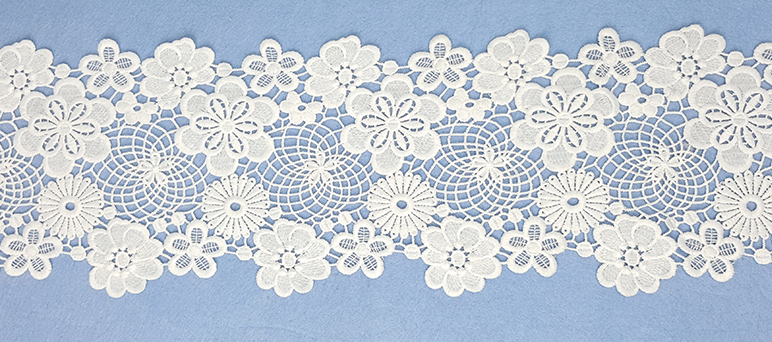 New Design Embroidery Lace
