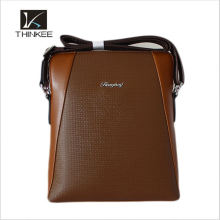 Bulk Male Conference Genuine Cow Leather Hand Bags