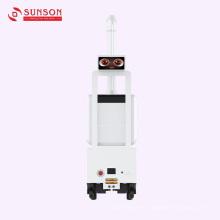 Robot de pulverización de niebla de desinfección
