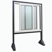 Kundengebundenes PVC-Profil-Fenster mit starkem Glas / 5 + 12A + 5mm doppeltem Glas