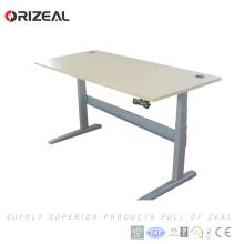 El precio competitivo del metal del recubrimiento en polvo altura ajustable se levanta el estilo simple del escritorio