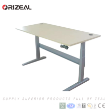 Competitive price powder coating metal Adjustable height stand up desk simple style