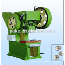 Galvanized roofing nail making machine with umbrella head