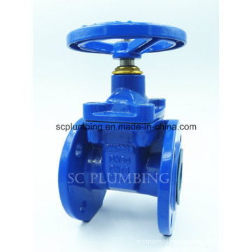 Din3352-F4/F5 Resilient Seated Gate Valve Flanged End Non Rising Stem