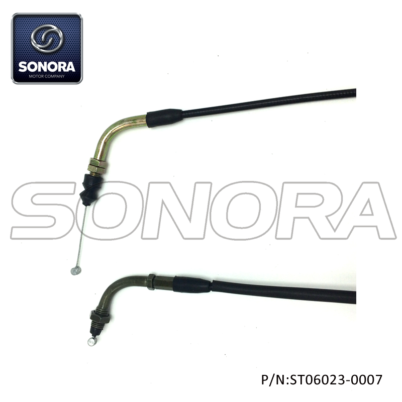 ST06023-0007 LONGJIA spare parts LJ50QT-3L Throttle cable