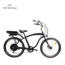 S1 enduro motor de cubo trasero de aluminio eléctrico crucero playa bicicletas / ebike
