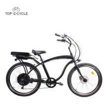 S1 enduro aluminum frame rear hub motor electric beach cruiser bicycles /ebike