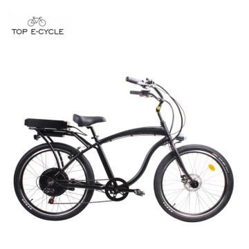 S1 Enduro Aluminium Rahmen hinten Hub Motor elektrische Beach Cruiser Fahrräder / Ebike