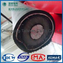Профессиональный высококачественный 66-220kv xlpe изолированный силовой кабель