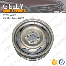 Chinese car parts OE GEELY spare Parts steel wheel 3101100180