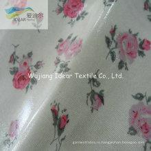 ПВХ ламинированный печатных хлопчатобумажная ткань для обивки