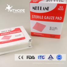 tampons de gaze stériles 10 * 10 8P